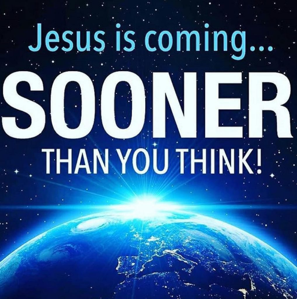 NORMAL ISN'T COMING BACK JESUS IS!